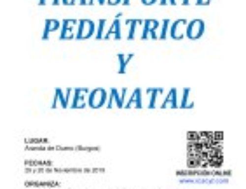 V Curso-Taller VMNI en Trasporte Pediátrico y Neonatal