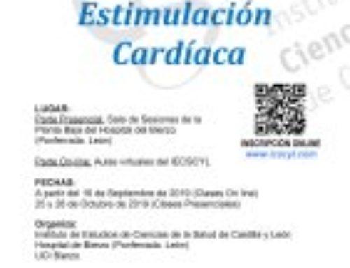 V Curso Estimulación Cardiaca