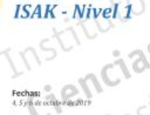 Curso de Certificación ISAK-Nivel 1