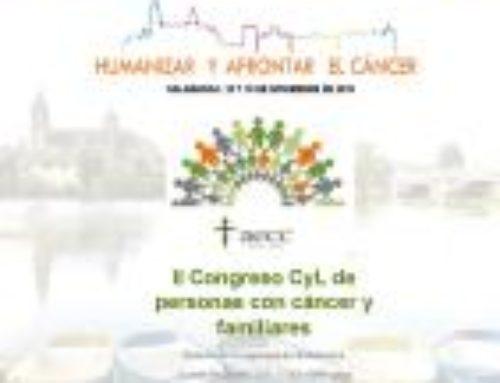 II Congreso CyL de personas con cáncer y familiares