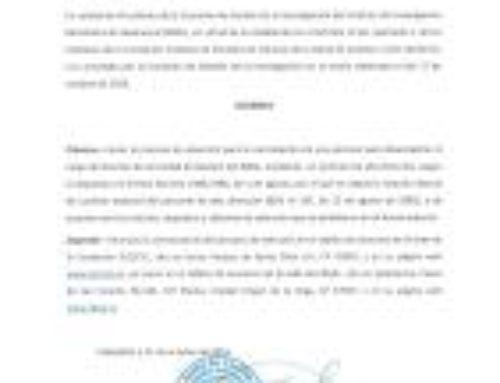 Proceso de selección Director Unidad de Gestión IBSAL