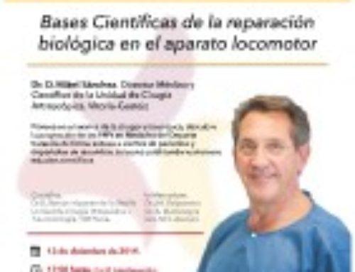 Sesión Clínica con el Dr. Mikel Sánchez