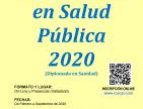 Diplomado en Salud Pública 2020 (Diplomado en Sanidad)