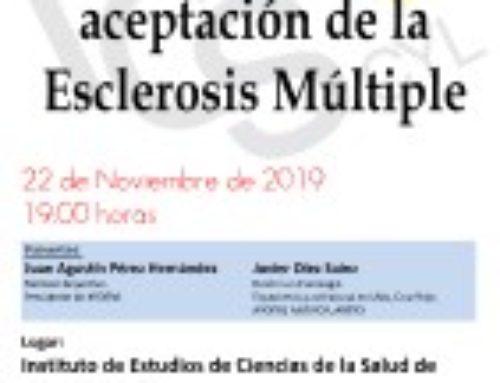 Charla. Proceso de aceptación de la Esclerosis Múltiple