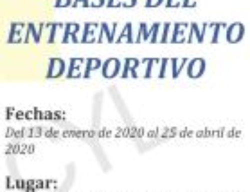 Curso Fisiología y Bases del Entrenamiento Deportivo