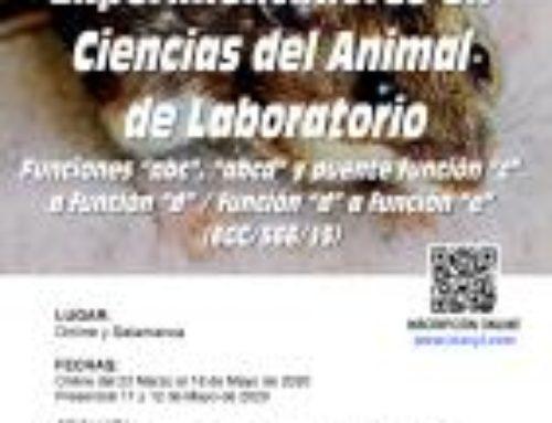 XIX Curso de Capacitación para Experimentadores en Ciencias del Animal Laboratorio. Funciones ABCD y E.