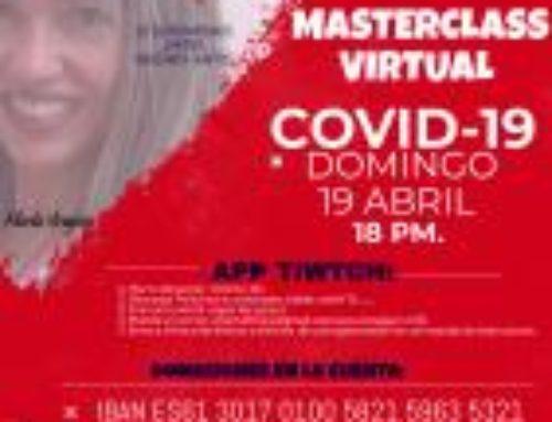 Master Class on-line de Zumba – Solidaria COVID-19
