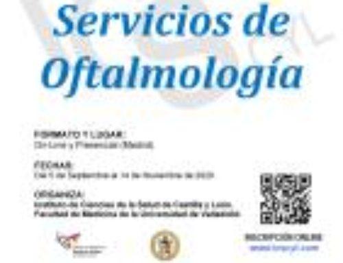 Curso Experto Gestión en Servicios de Oftalmología
