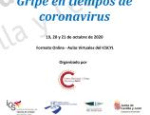 II Jornada de actualización en Gripe. Gripe en tiempos de coronavirus.