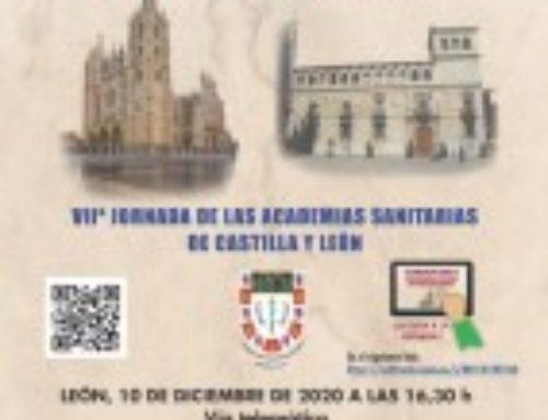 VIIª Jornada de las academias sanitarias de Castilla y León