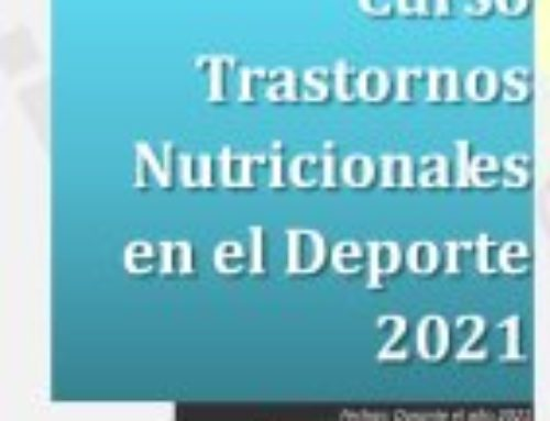 Curso Trastornos Nutricionales en el Deporte – On-line