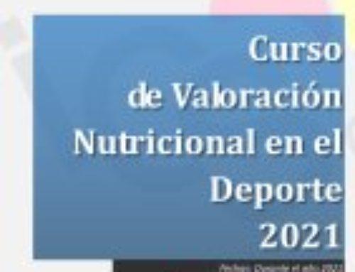 Curso de Valoración Nutricional en el Deporte – On-line