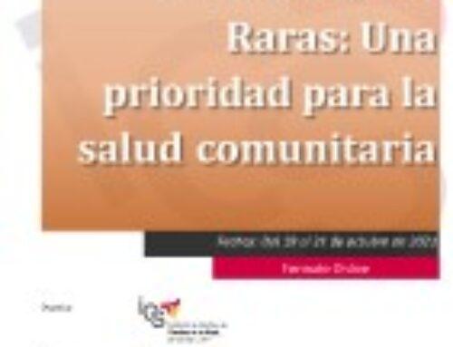 Curso Enfermedades Raras: Una prioridad para la salud comunitaria